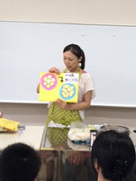 大豆から作る手作り豆腐教室1