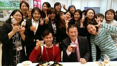 豆腐&大豆食品フェアボランティアチーム